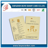 Offset Printing At24c64/Sle5528/ At24c Contact Key Card for Access Control