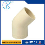 ISO Standard Fitting PVC 45 Degree Elbow