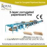 Mjt Model 3-Layer Corrugated Paperboard Production Line Carton Making Line