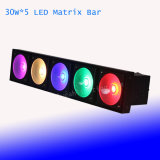 LED Blinder 5 X 30W RGB 3in1 LED