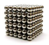 216 Silver Small Magnetic NdFeB Magnet Ball