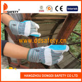 Cheap Custom Thin Mens Industrial Leather Cow Split Reinforced Palm Gardening Hand Work Safety Construction Gloves Bulk Price