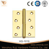 Brass Butt Hinge 2bb with Flat Head (HG-1017)