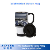 11oz Sublimation Plastic Mugs Coated Travel Water Bottle Cup