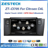 2 DIN Auto Radio for Citroen C4l Car DVD GPS Player