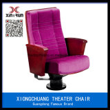 Movable Prices Interlocking Portable Church Chair Cover Fabric Seats for Cinema Prices Auditorium Chair Aw1513