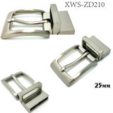 High Quality Metal Zinc Alloy Reversible Buckle Roller Buckle Pin Belt Buckle for Dress Belts Garment Shoes Handbags (XWS-ZD210)