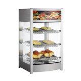 97L Fast Food Equipments Curve Shaped Food Warmer Display