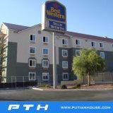 Customized Design Luxury Prefab Steel Structure Hotel