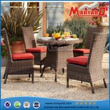 Garden Furniture Round Rattan Dining Set for Outdoor