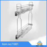3D Kitchen Wire Storage Dish Drawer Cabinet Baskets Pull Spice Rack