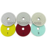 Professional Quality 3 Steps Wet Flexible Polishing Pads