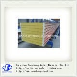 Steel Cold Room Rock Wool Insulated Sandwich Panel