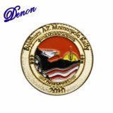 Motorcycle Rally Promotional Custom Enamel Lapel Pin
