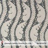 Textile Nylon Cotton Mesh Lace Fabric Wholesale (M3470)