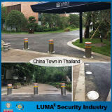 Parking System Road Safety Automatic Stainless Steel Bollard