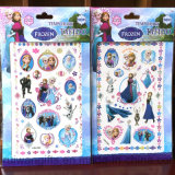 Hot Sell Frozen Cartoon Tattoo Sticker for Kids