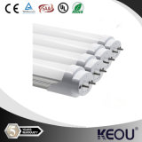 New Plastic 9W/13W/18W/24W T8 LED Tube Light with Free Sample