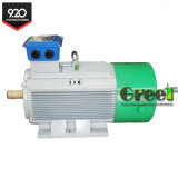 100kw 100rpm Low Speed Hydro Permanent Magnet Generator with Controller and Inverter System