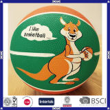 Cheap Colorful Promotional Rubebr Basketball