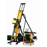 20m Depth Electric Motor Pneumatic Drilling Rig with Easy Operation Equipment
