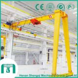 Industrial Application Bmh Model Single Beam Semi-Gantry Crane