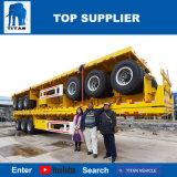 Titan Vehicle - 4 Axle or Tri Axle Semi Flatbed Trailers for Sale