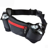 Sports Flip Running Belt Waist Bag with Bottle Holder
