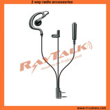 3-Wire G Shape Earpiece Surveillance Kits for Two Way Radios