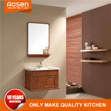 Wholesale American Simple Style Wood Veneer Bathroom Vanity Cabinet