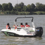 Wholesale 5 Seats 150HP Outboard Jet Drives Fiberglass Boat