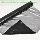 20mic 25mic 30mic 20um 25um 30um Silver Black Plastic Mulch Film Black Silver Plastic Film Greenhouse Film Plastic Film Stretch Film