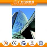 Aluminum Profile Glass Curtain Wall for Commercial Building and Residential House