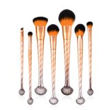 Private Label 7PCS Wholesale Makeup Brush Set Custom Logo Powder Face Eye Brushes Set Colorful Blush Cosmetic Tools