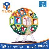 2018 48PCS Wholesale Magnetic Building Blocks Educational Toys for Kids