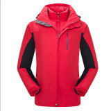 Man and Women Wholesale Outdoor Goose Down Zip Waterproof Jacket Autumn Winter Hoodied Soft Shell Jacket
