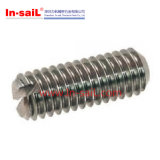 DIN551 ISO4766 Slotted Set Screws with Flat Point