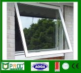 Aluminum Top Hung Window or Awning Window with Double Glass