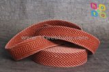 Washed Vintage Webbing Polyester/Cotton Webbing for Belts