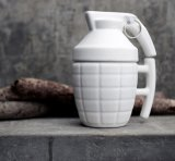 Novelty Grenade Shape Design Ceramic Cup Coffee Mugs