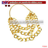 Bling Gold Chain Necklace Costume Jewelry Jewelry Set (P3068)