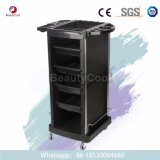 Saloniture Beauty Salon Rolling Trolley Cart with 4 Drawers for Tool Storage