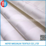 Fabric Manufactures Sell 100 Cotton White Satin Stripe Fabric Hotel