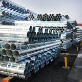 Pre Galvanized Pipe 2 Inch Schedule 40 Steel Round Pipe, Diameter 60mm Thin Wall ERW Welded Steel Pipe