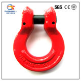 Rigging Red Painted G80 Forged Steel Omega Ring Link