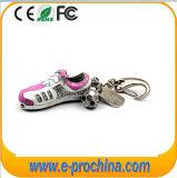 Very Hot Shoe Shape USB Flash Drive Keychain Flash Disk 4GB