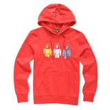 Custom Cotton Printed Hoodies Sweatshirt of Fleece Terry (F134)