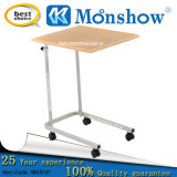Movable Overbed Bed, Adjustable Laboratory Table Moonshow Library Furniture
