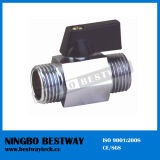Chrome Plated Brass Mini Ball Valve (BW-B103)