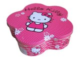 Flower Shape Cookie Tin Box Jewelry Tin Box